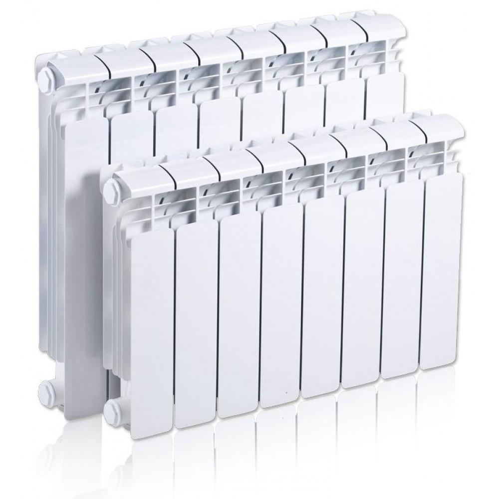 Радиатор отопления алюминиевый секционный Rifar Alum-500, 14 секции, боковое подключение, 2562 Вт…