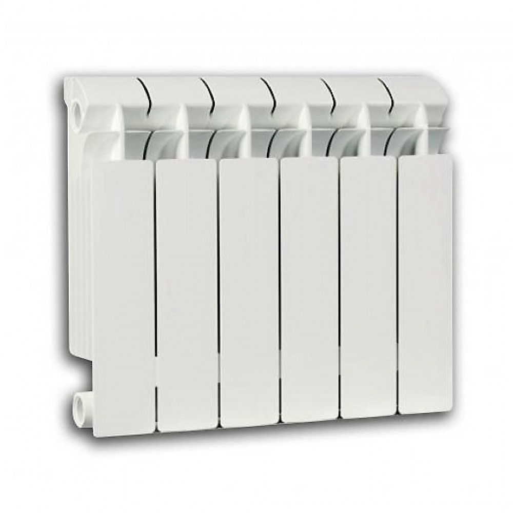 Радиатор отопления биметаллический секционный Global STYLE PLUS 500, 14 секций, боковое подключение, 2590 Вт…