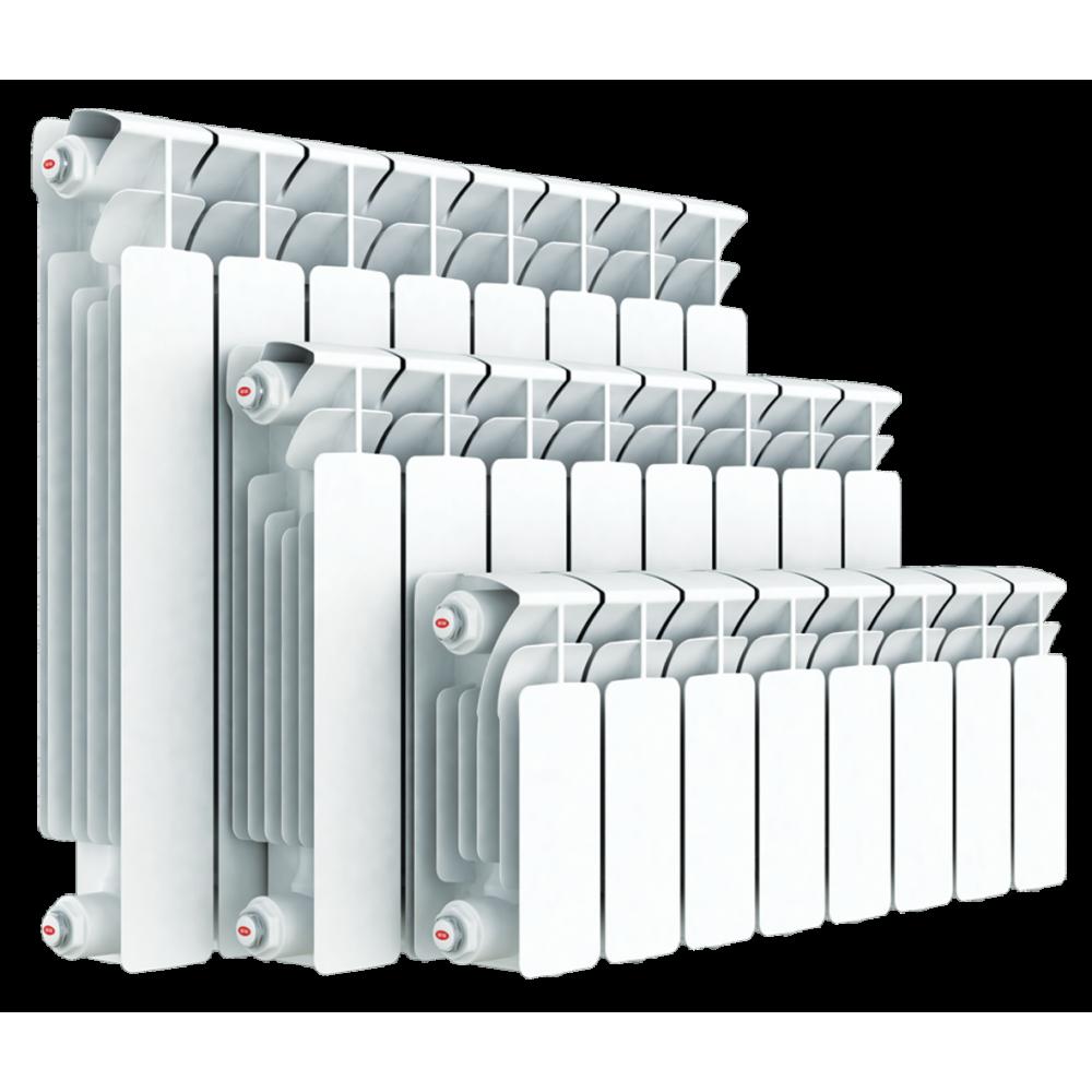 Радиатор биметаллический секционный Rifar Base B200, 13 секции, боковое подключение,…