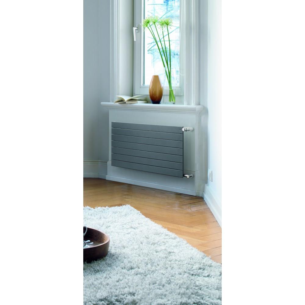 Дизайн-радиатор Zehnder Nova horizontal NH 07-1000, боковое подключение, 130 Вт…