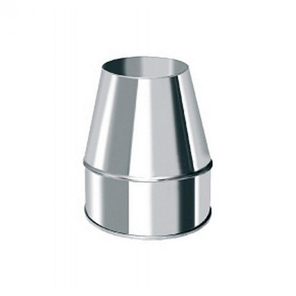 Коническое окончание Bofill FCDP Ø 350х410, утепленное, нерж сталь (Ø350х410мм, утепленный, нержавеющая…