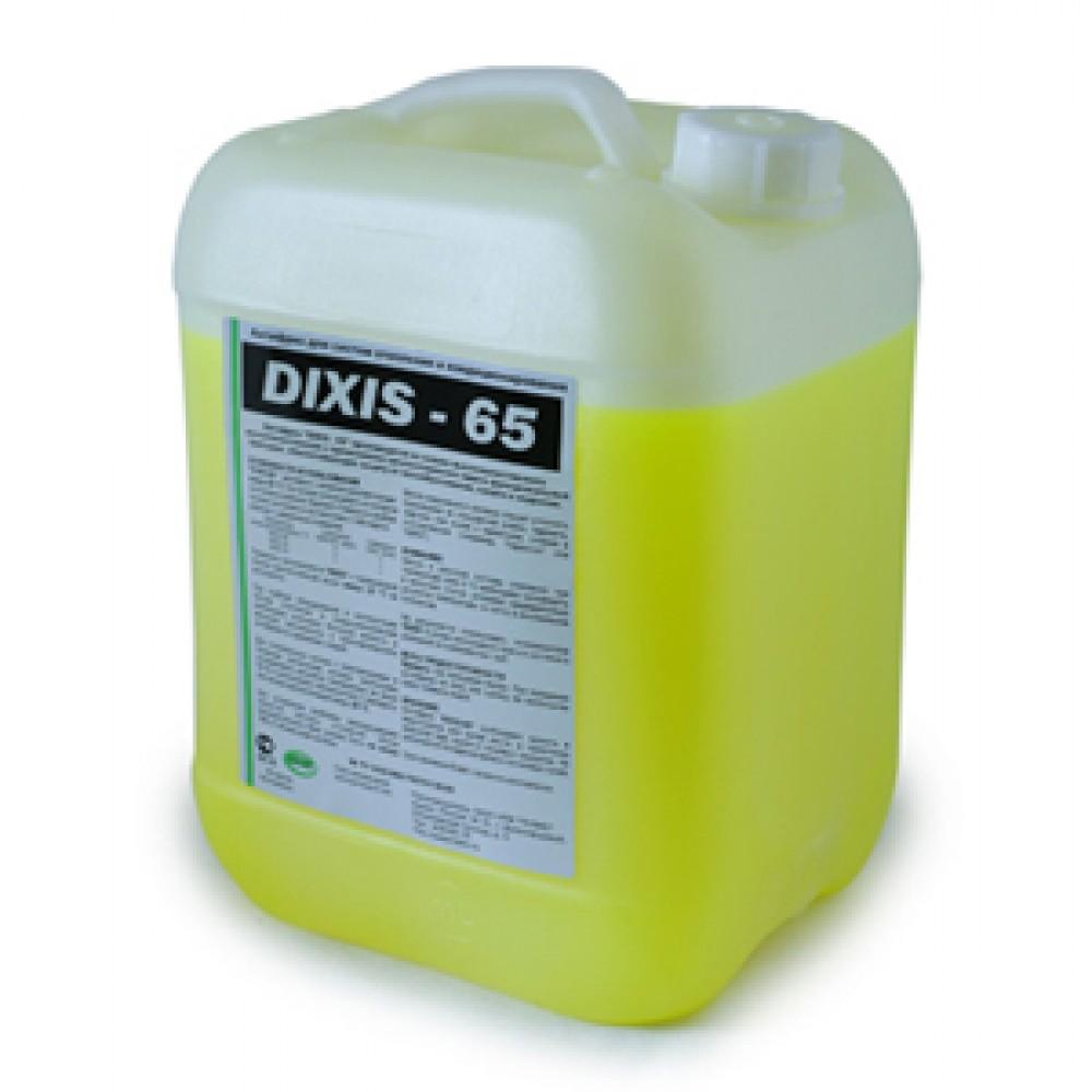 Теплоноситель незамерзающий (антифриз) DIXIS 65 с температурой замерзания до -65°C, 10л, DIXIS …