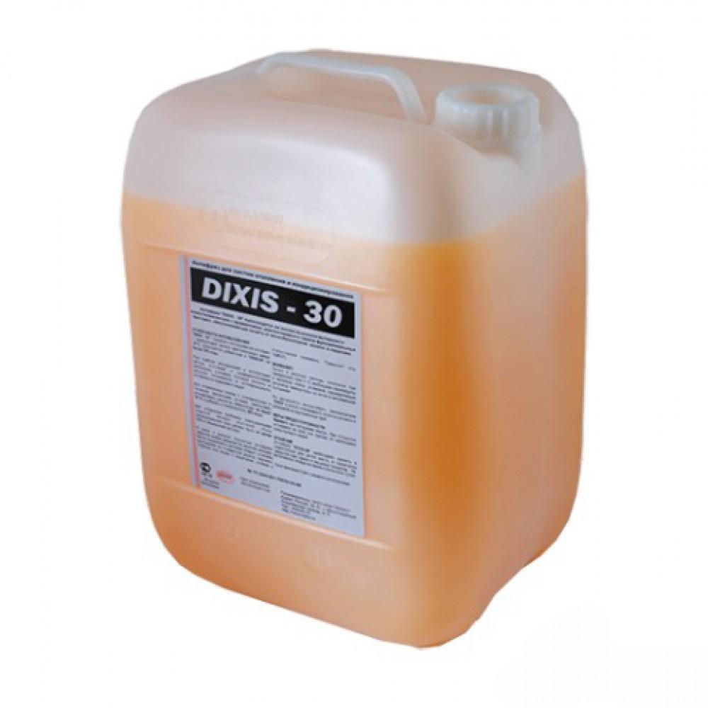 Теплоноситель незамерзающий (антифриз) DIXIS 30 с температурой замерзания до -30°C, 50л, DIXIS …