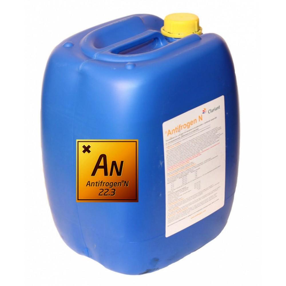 Теплоноситель незамерзающий (антифриз) Antifrogen N с температурой замерзания до -70°C, 22,3 кг, Clariant …