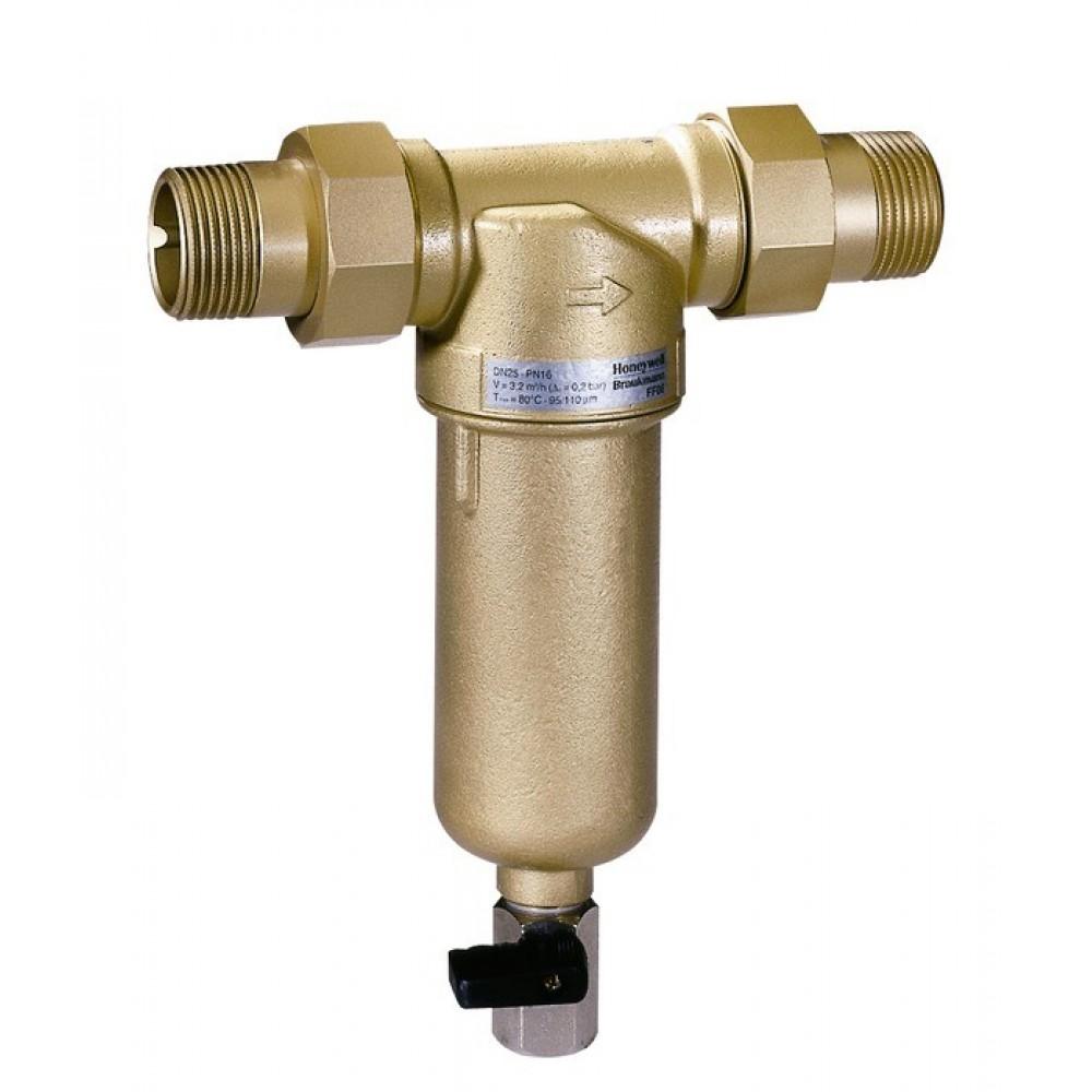 Промываемый фильтр очистки воды Honeywell MiniPlus-FF06-1/2 AAM, для горячей воды…