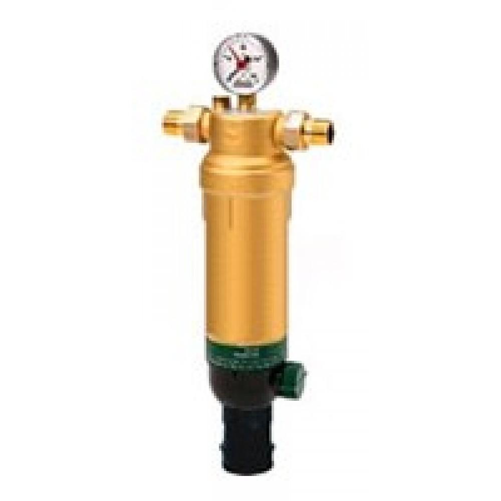 Фильтр тонкой очистки воды Honeywell F76 S-1/2AAM, для горячей воды c обратной промывкой…