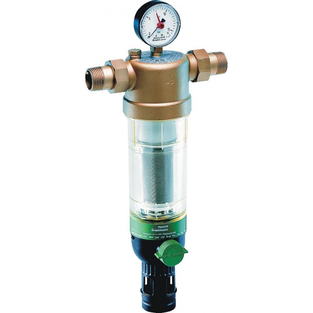 Фильтр тонкой очистки воды Honeywell F76 S-1/2AA, для холодной воды c обратной промывкой…