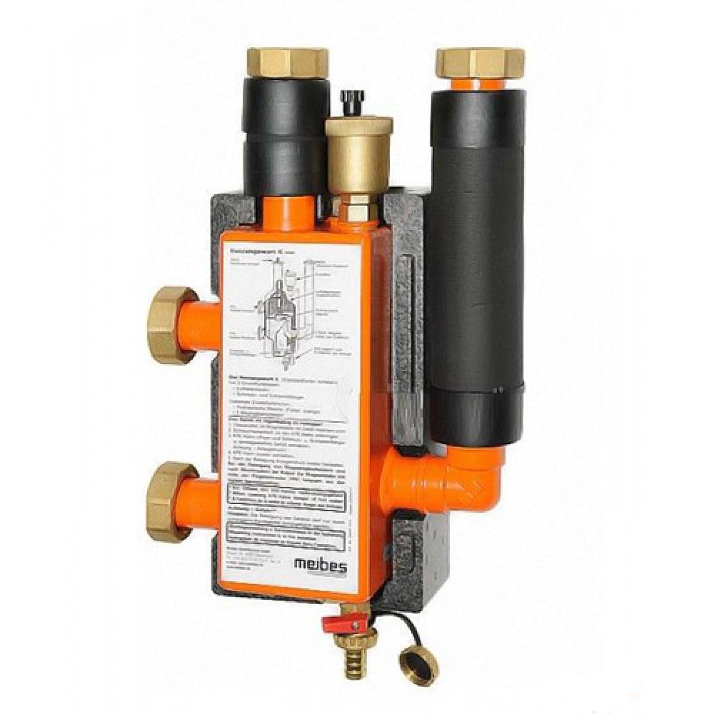 Гидравлическая стрелка Meibes МНK 25 (2 м3/час, 60 кВт при 25 °С), DN…