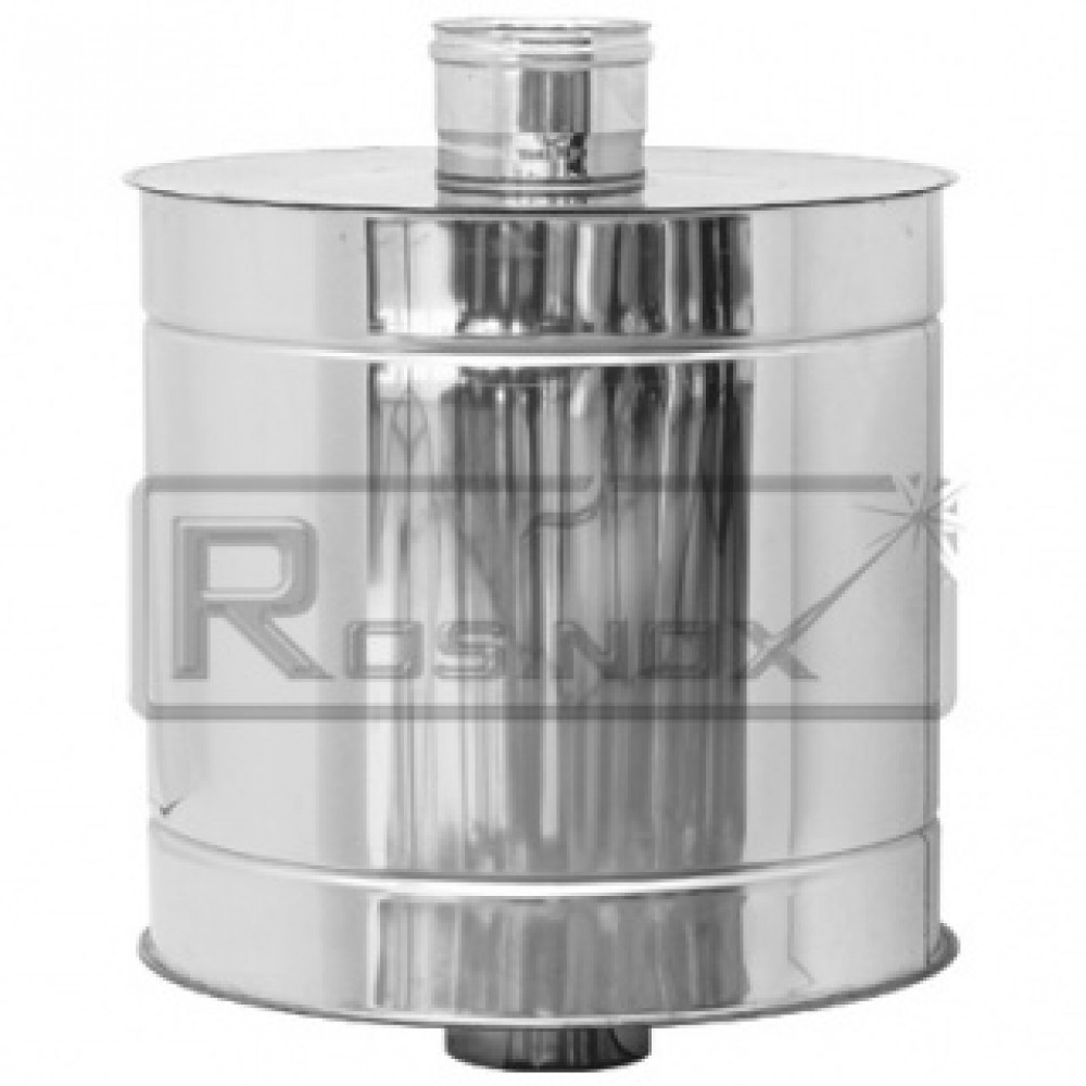 Глушитель, 15 дб Rosinox 1ГЛ15 Ø 150 мм, нерж сталь…