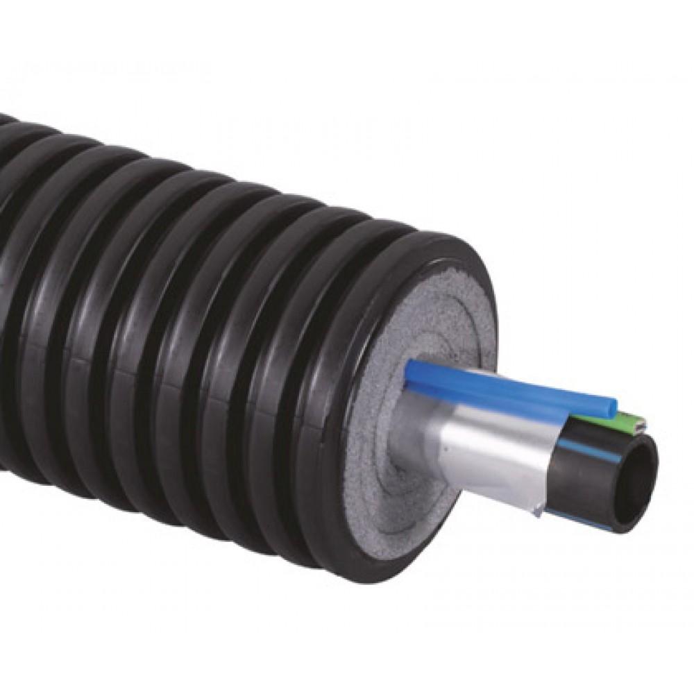 Труба Uponor Ecoflex Supra Plus Ø 110x10,0/200 мм., сшитый полиэтилен, бухта 100 м…