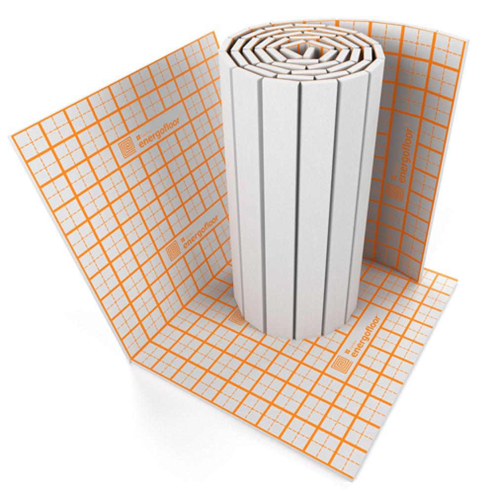 Плита теплоизоляционная Energofloor Тacker Т=25 мм/Ш=1 м/Д=1,6…