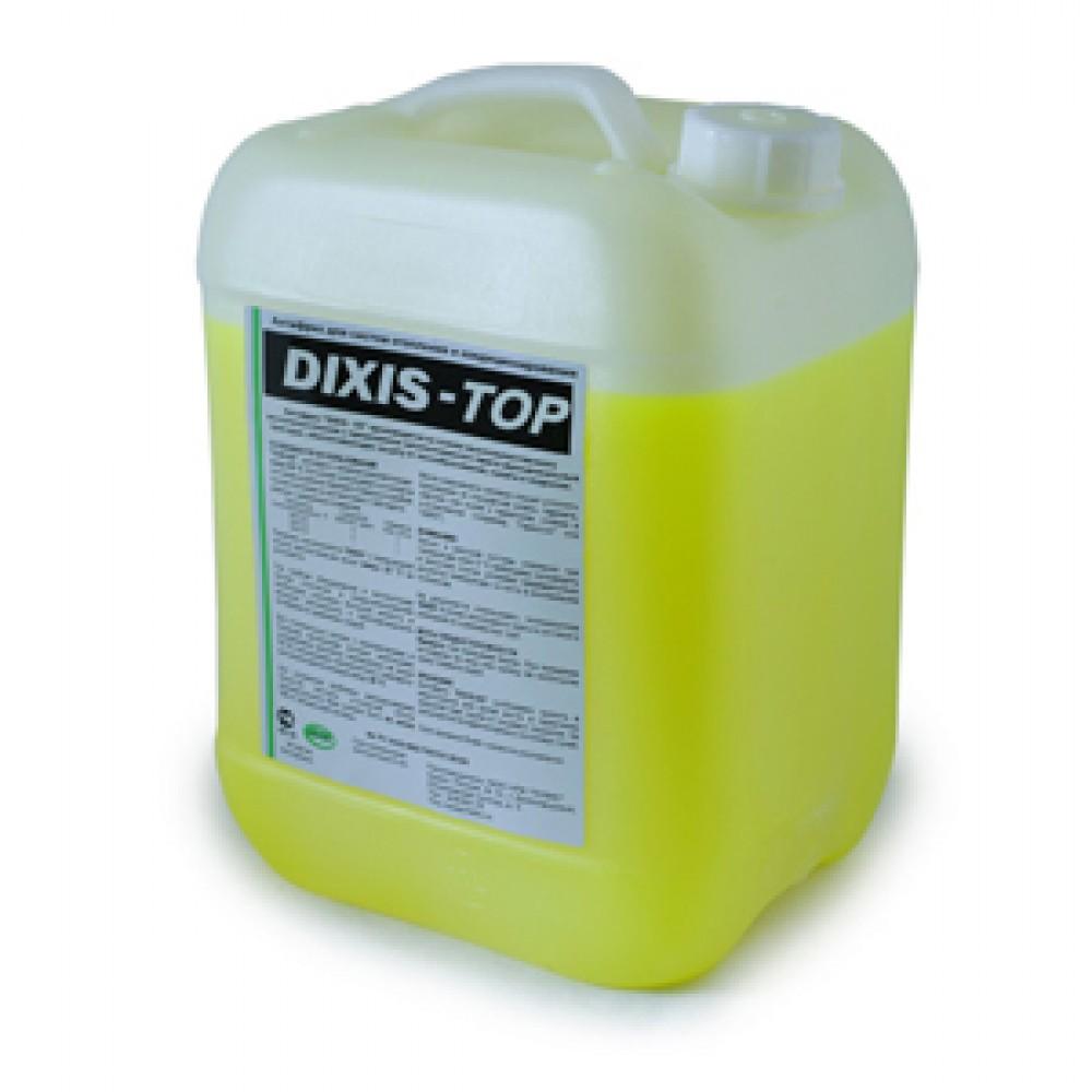 Теплоноситель незамерзающий (антифриз) DIXIS-TOP -30 с температурой замерзания до -40°C, 10 л…