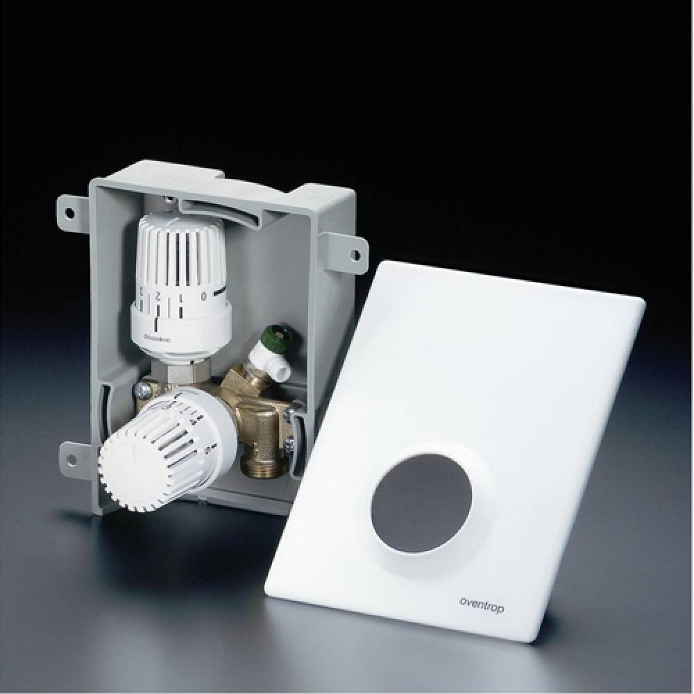 Терморегулятор Oventrop Unibox plus, хром…