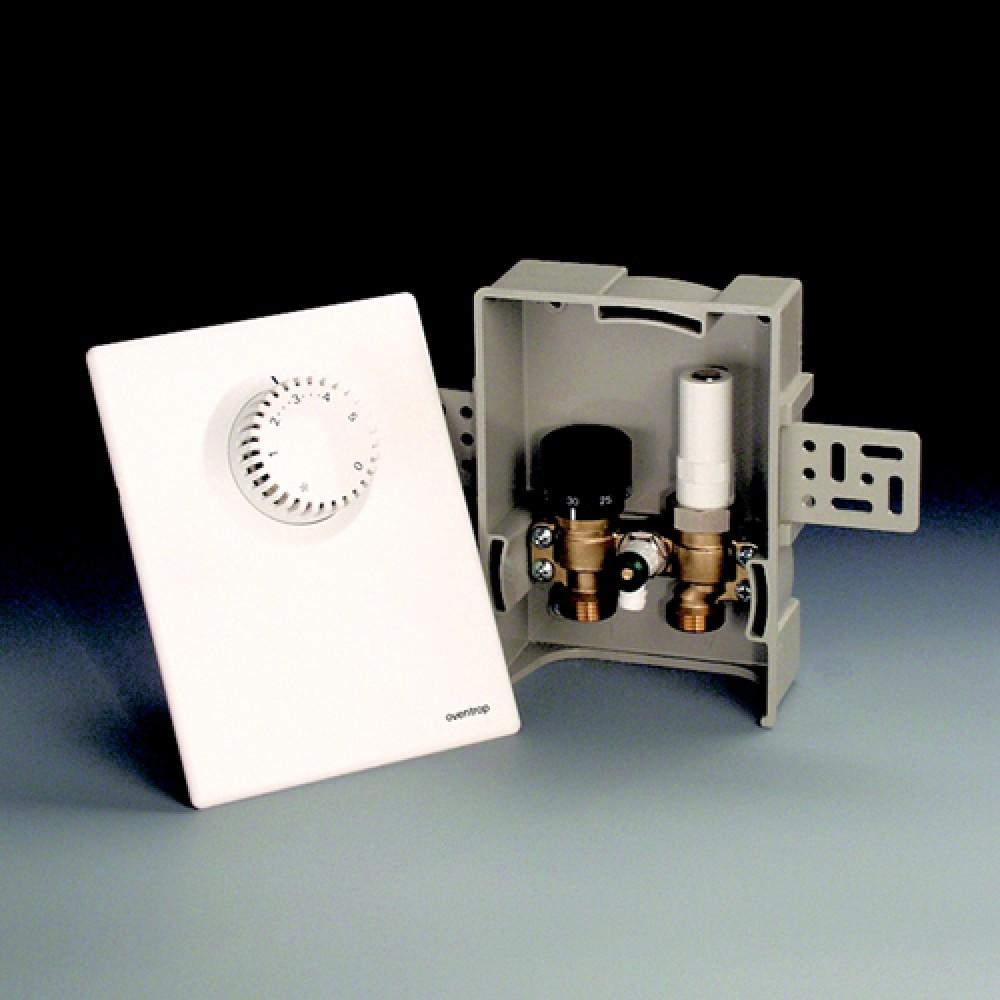 Терморегулятор Oventrop Unibox E plus, матовая сталь (матовая…