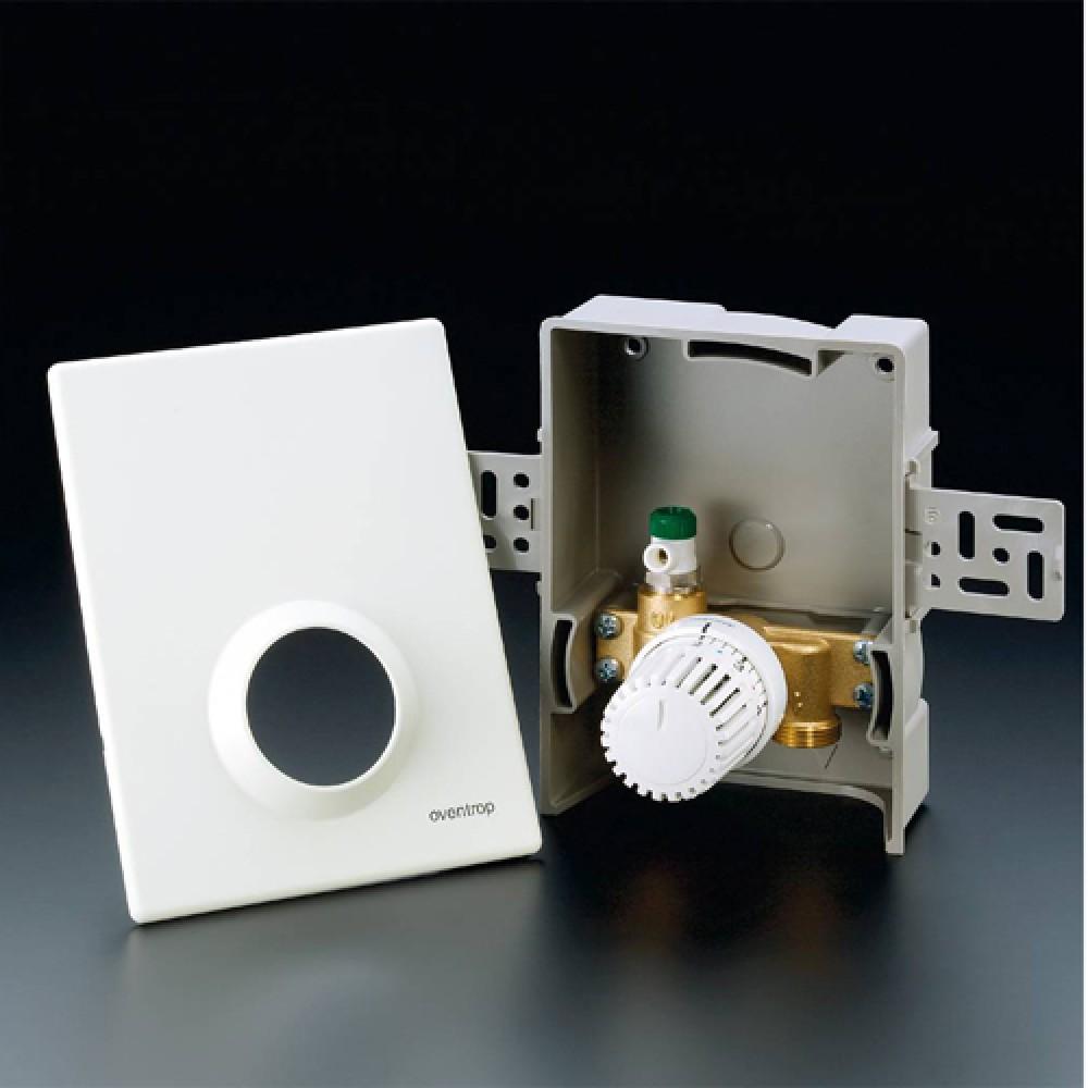 Терморегулятор Oventrop Unibox RTL, матовая сталь (матовая…