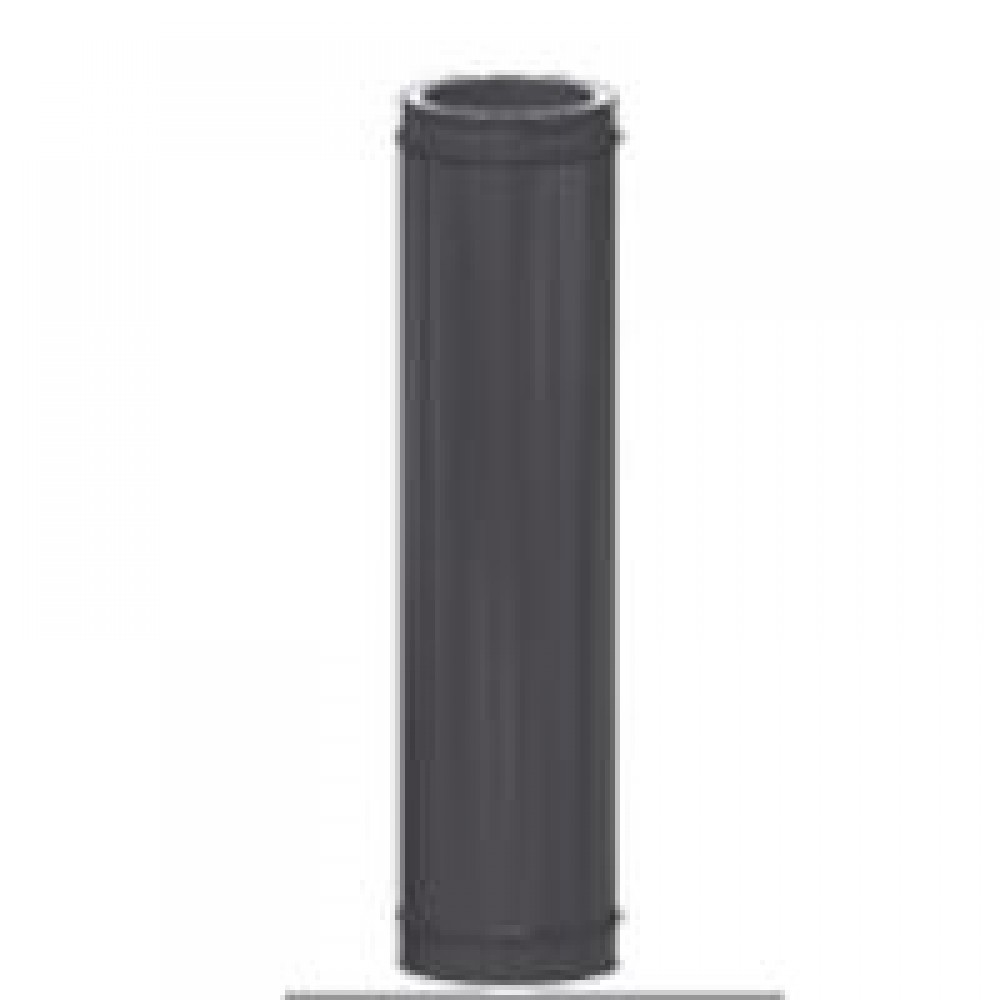Элемент трубы Shiedel Permeter 50 Ø 200xL250 мм, черный (RAL 9005)…