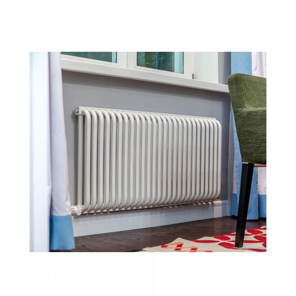 Радиатор отопления стальной двух трубчатый КЗТО РС-2 500 9 секций, боковое подключение, 630 Вт…