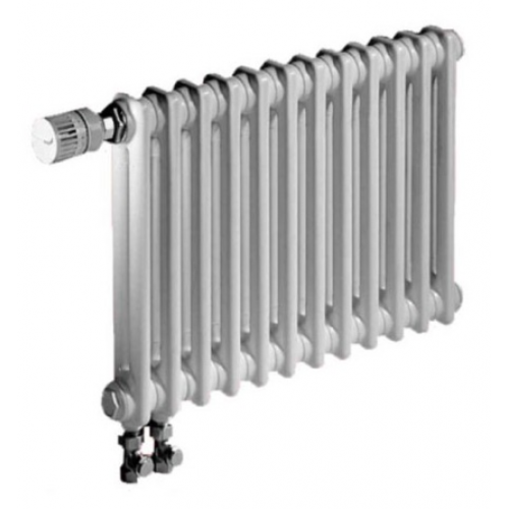Радиатор отопления стальной двух трубчатый Zehnder Charleston Completto 2056 18 секций, твв, нижнее подключение, 972 Вт…