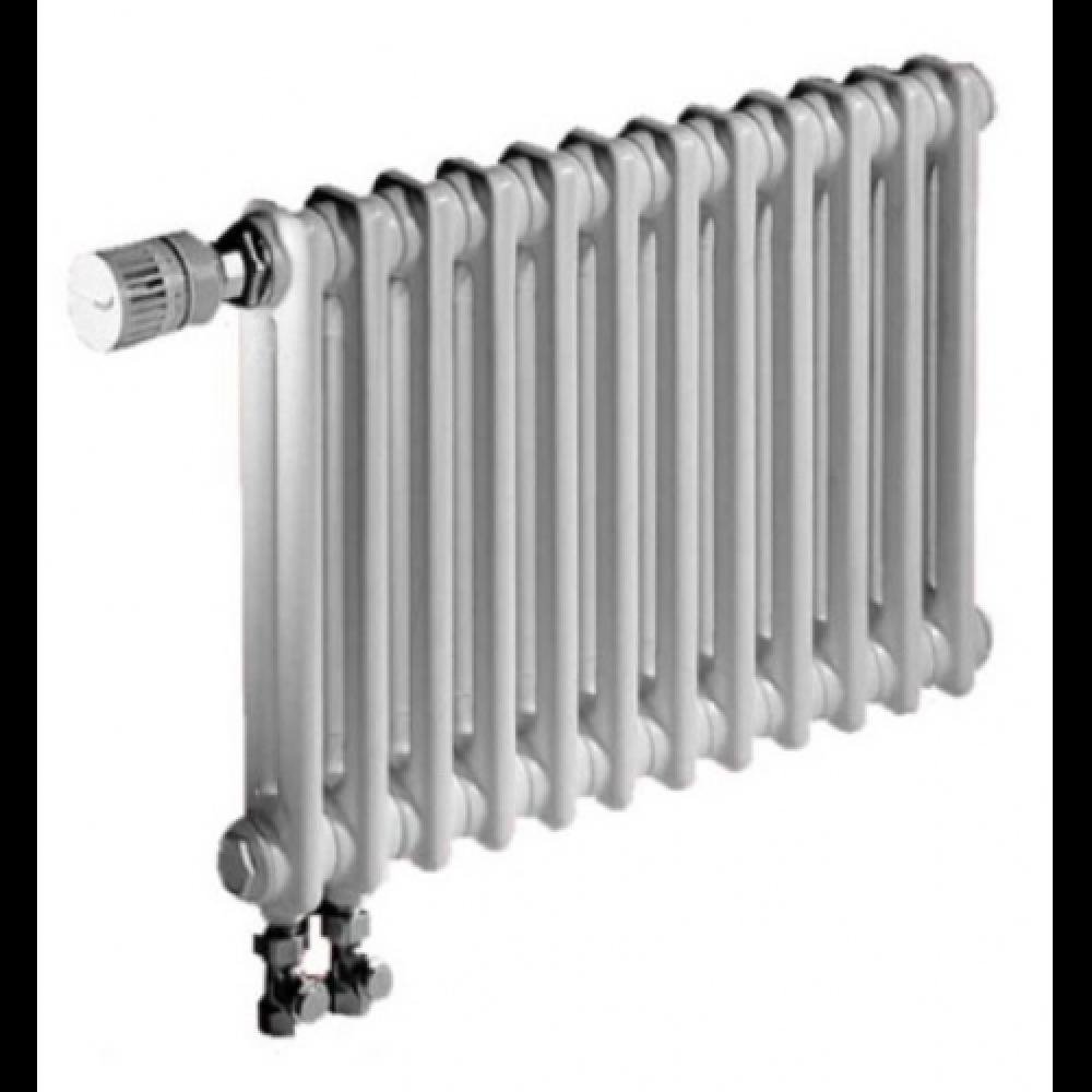 Радиатор отопления стальной двух трубчатый Zehnder Charleston Completto 2056 08 секций, твв, нижнее подключение, 432 Вт…