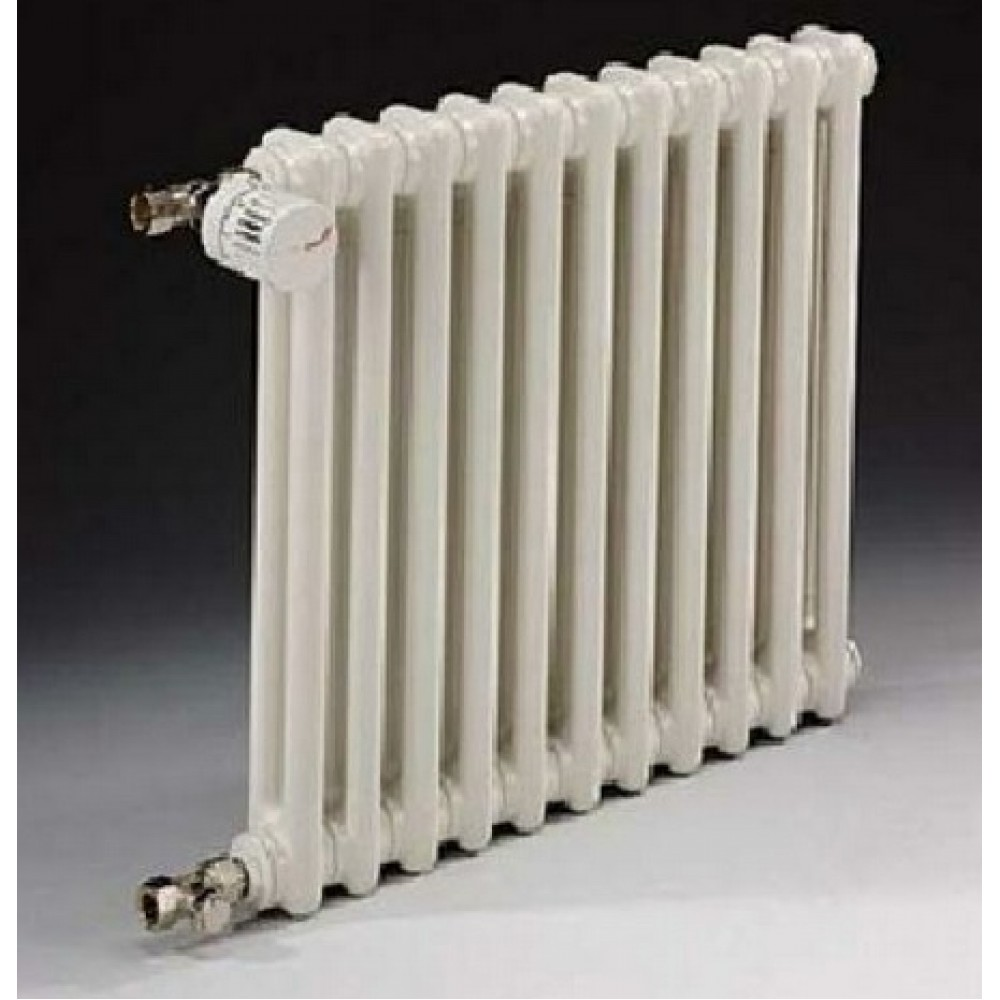 Радиатор отопления стальной двух трубчатый Zehnder Charleston 2056 08 секций, боковое подключение, 432 Вт…