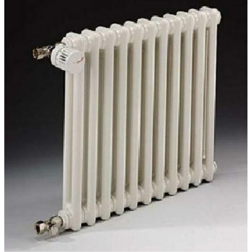Радиатор отопления стальной трех трубчатый Zehnder Charleston 3037 08 секций, боковое подключение, 392 Вт…