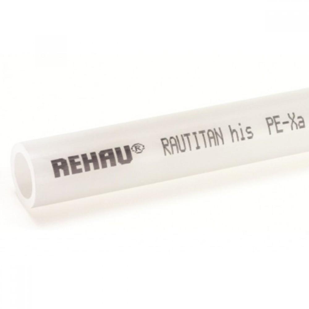 Водопроводная труба Rehau Rautitan His, Ø 50 х 6,9 мм, штанга 6 м (Ø50 мм, толщина стенки 6,9 мм, RAU-PE-Xa, штанга…