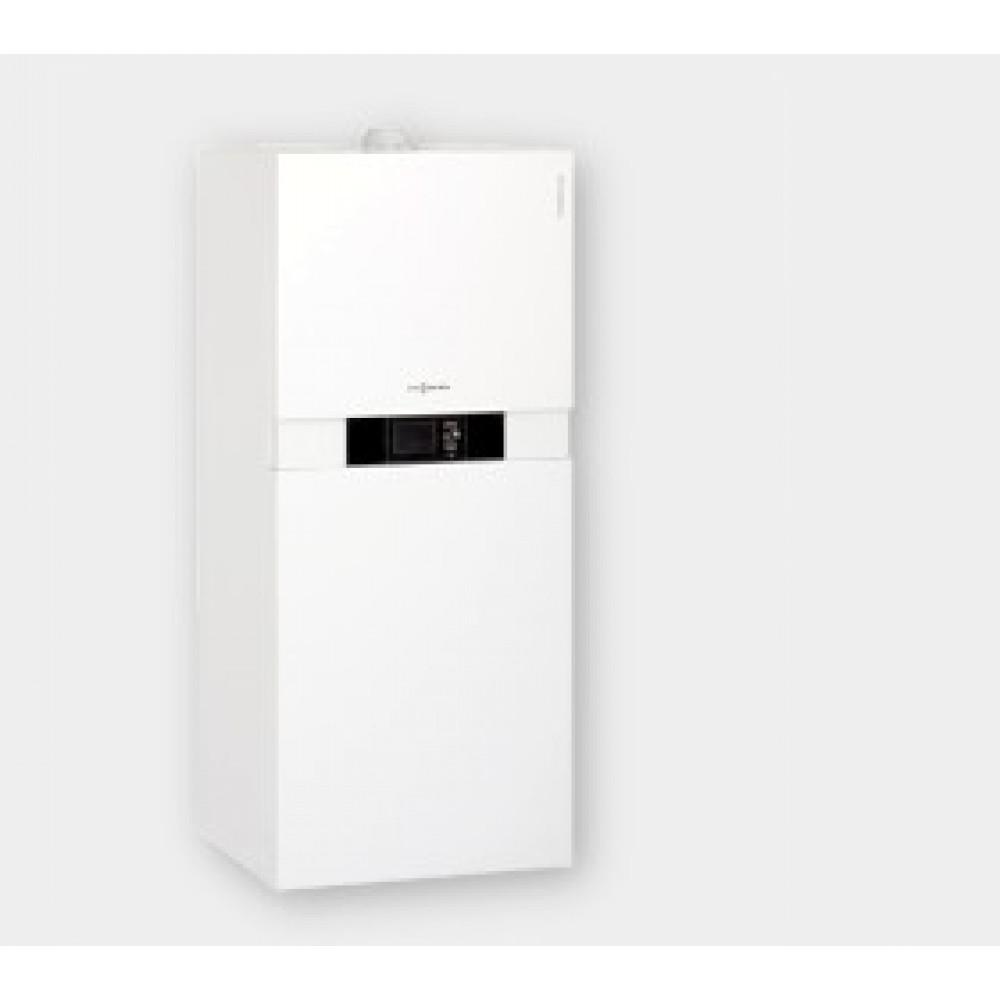 Котел газовый конденсационный Viessman Vitodens 222-W B2SB, 13 кВт/ч, двухконтурный, встроенный водонагреватель 130 л…