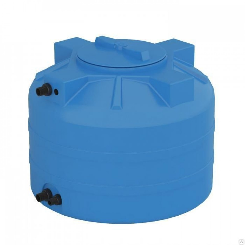 Бак для воды Aquatech АТV 1000  1000 л (Объем 1000л Ø горловины 350 Ø бака 1125   высота 1150…